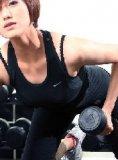 李琛:从靓模变身健身