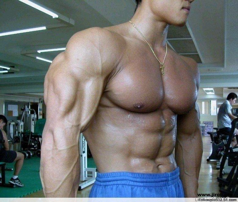 腹部肌肉锻炼视频_猛男秀肌肉_肌肉网