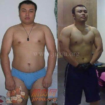 从胖子变力士 从自卑变自信-减肥经验_肌肉网; 胖子减肥成功图片大全