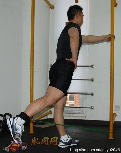 拉力绳力量训练技巧:臀部肌群