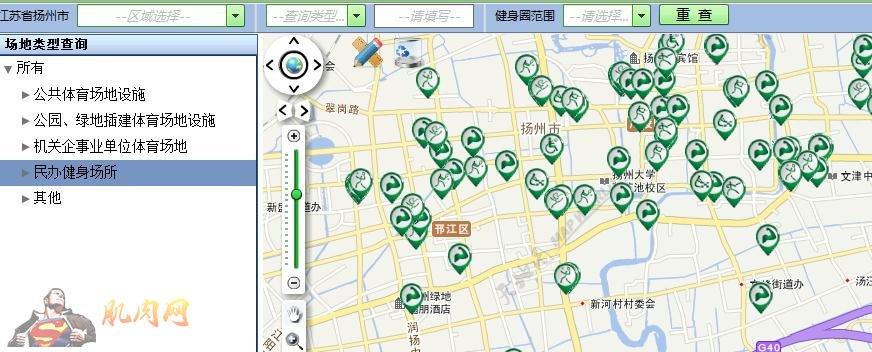 扬州市城市道路地图
