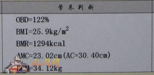 """体验""""人体成分分析仪""""(4-2)----人体成分分析报告"""