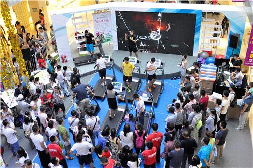 冰桶挑战赛快乐家族_2014年家庭健身挑战赛北京站火热开赛_肌肉网