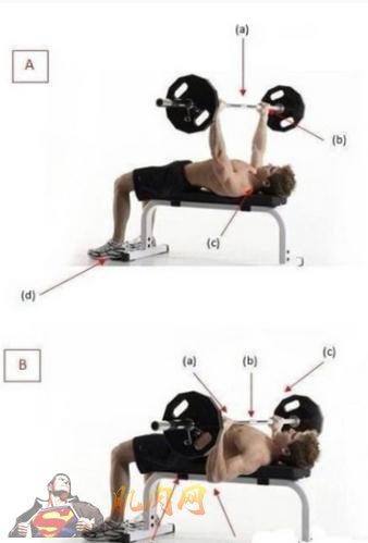 哑铃卧推_卧推的九个基础动作图解_肌肉网