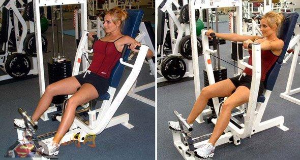 -----------------------------------健身计划:周一至周三--------------------------------- 力量训练总纲,具体训练计划请看训练安排。 使用的重量随着训练水平的提高可以慢慢加,动作次序也可以换,注意每四周改一下计划,让肌肉接受新的刺激,本计划适用于能去健身房的人士~~ 周一:胸部训练:8组 1.