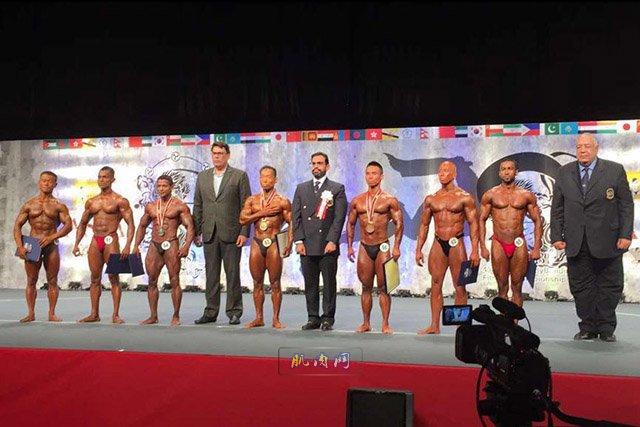 亚洲健身学院_第49届亚洲健美和健身锦标赛 中国获2枚金牌