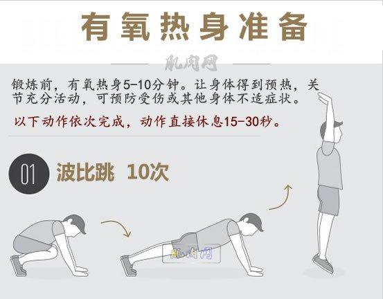 男人腰部锻炼方法_5分钟有氧热身准备活动_肌肉网
