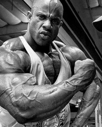 职业健美运动员谈手臂锻炼