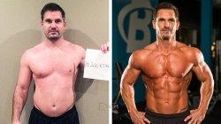 中年大叔变身肌肉男健身计