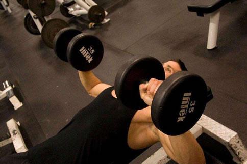 新手初级增肌计划一周表详情 健身课程