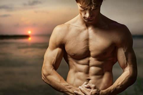 男生在家如何快速练出六块腹肌