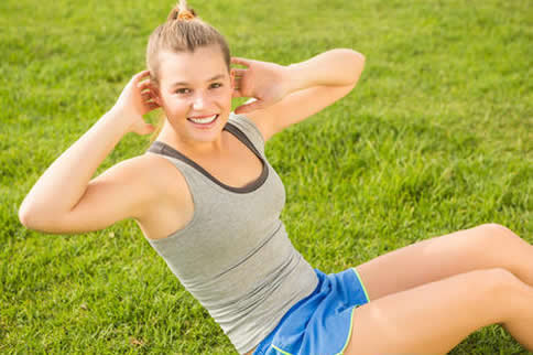 女性腰部力量训练动作名称大全