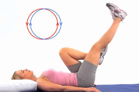 空中蹬车腹肌锻炼方法详解