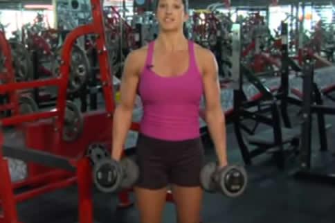 女生怎么练肱三头肌最快