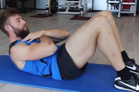 腹部减脂训练计划初级版