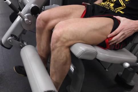 坐姿腿屈伸