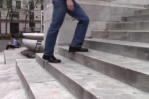 爬楼梯减肥会长肌肉吗